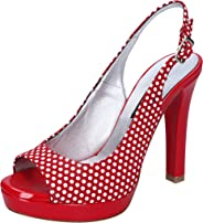 ALBANO Sandals Womens Red