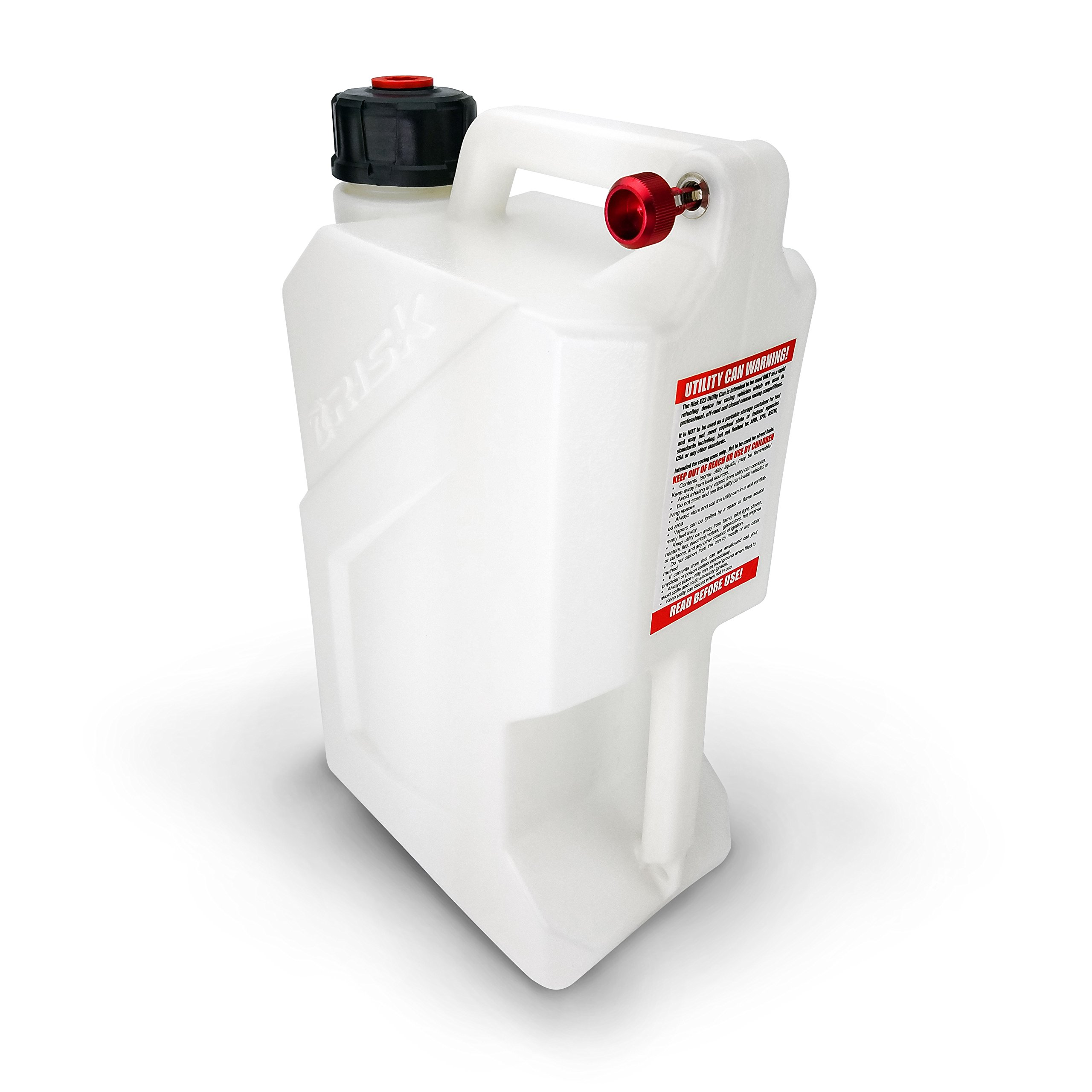 Risk Racing 00144 White EZ3 Utility Jug by Risk Racing (Image #2)