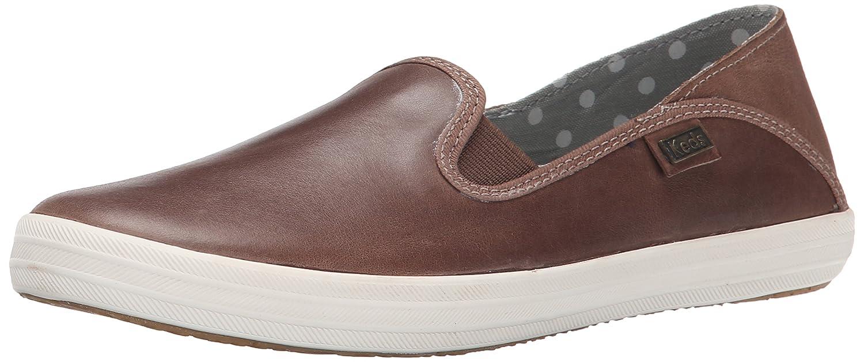 Keds Women's Crashback Leather Fashion Sneaker B00R5A2Y52 7 B(M) US|Fog Grey