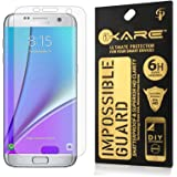 iKare Front Back Fiber Glass Screen Protector for Samsung Galaxy S7 Edge