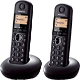 PanasonicDigital Cordless Phone, Black(KX-TGB212CXB)