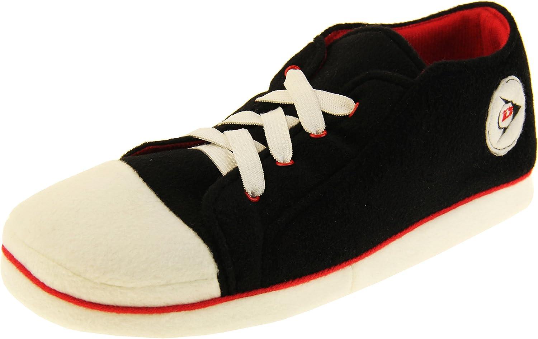 Hombre Dunlop Zapatillas de Deporte de Novedad de Lana cálida y Deportiva