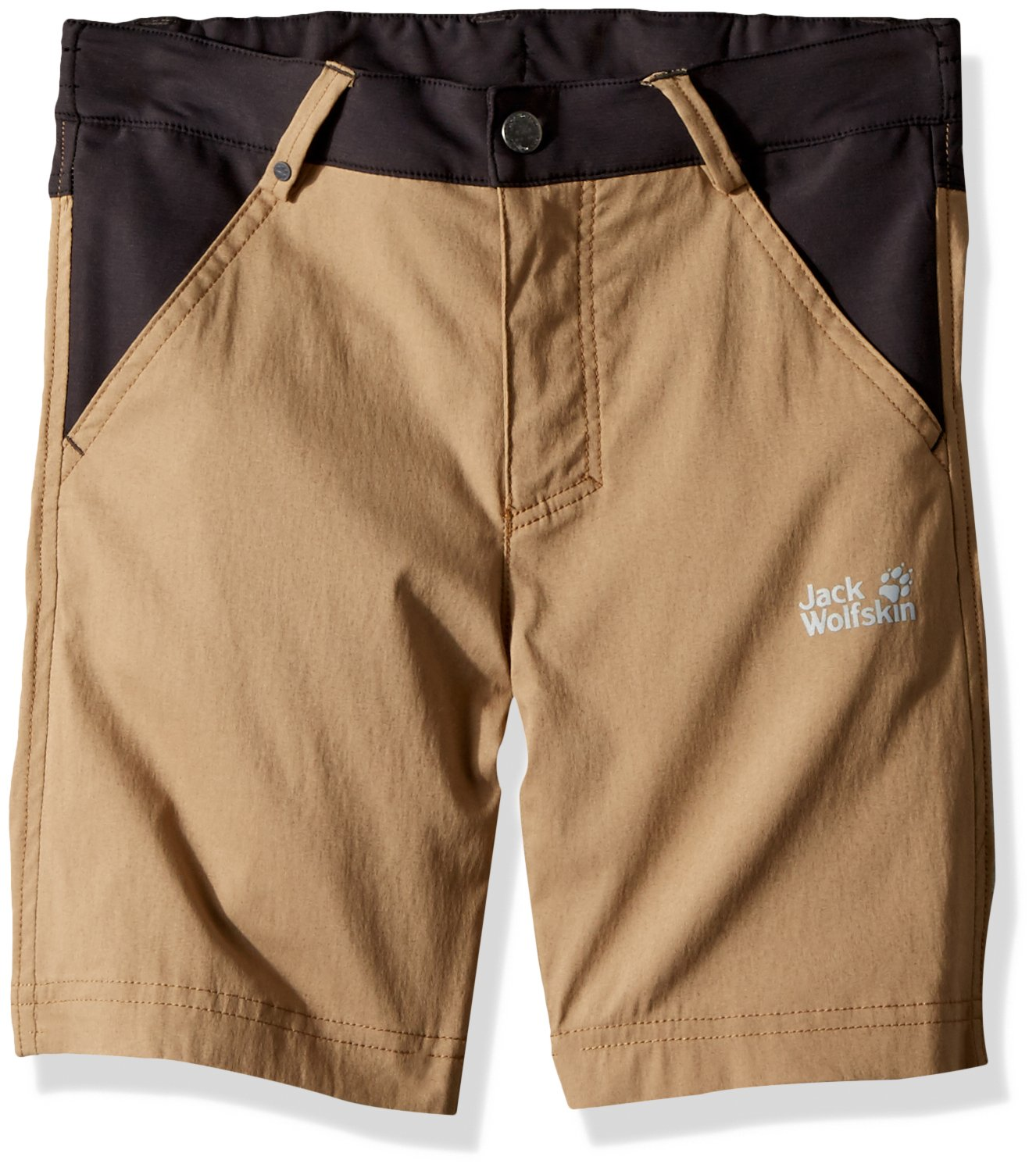 Jack Wolfskin Dillon Flex Shorts, 104 (3-4 Years Old), Sand Dune by Jack Wolfskin