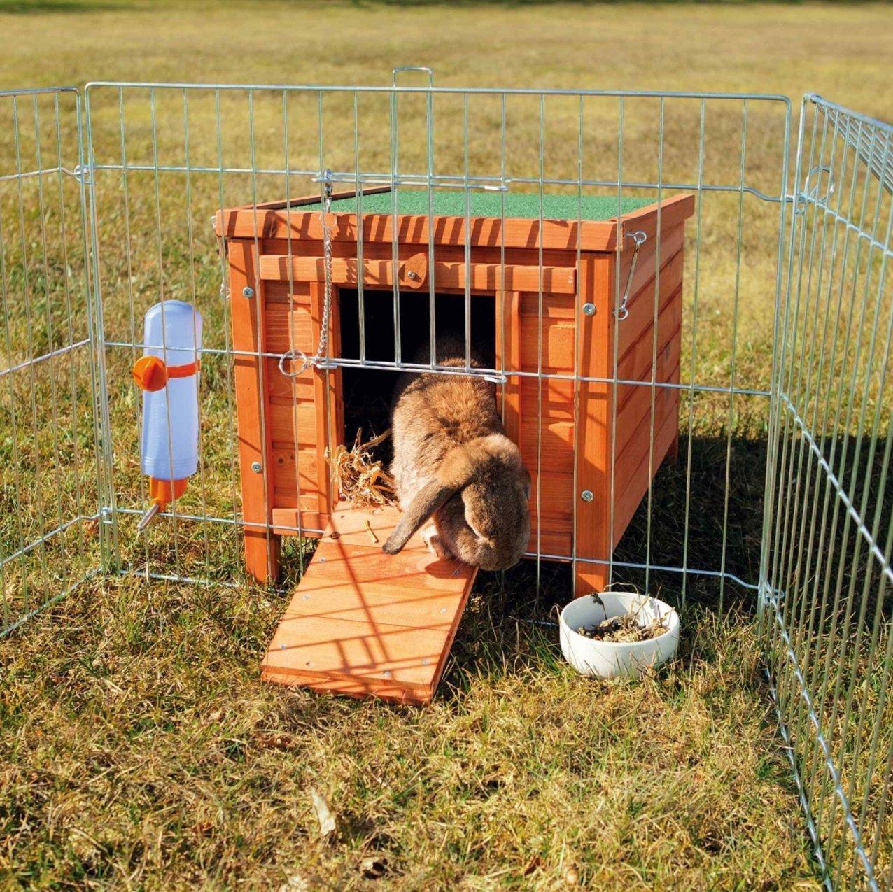 Trixie Caseta Natura Conejos, 42x43x51 cm: Amazon.es: Productos para mascotas
