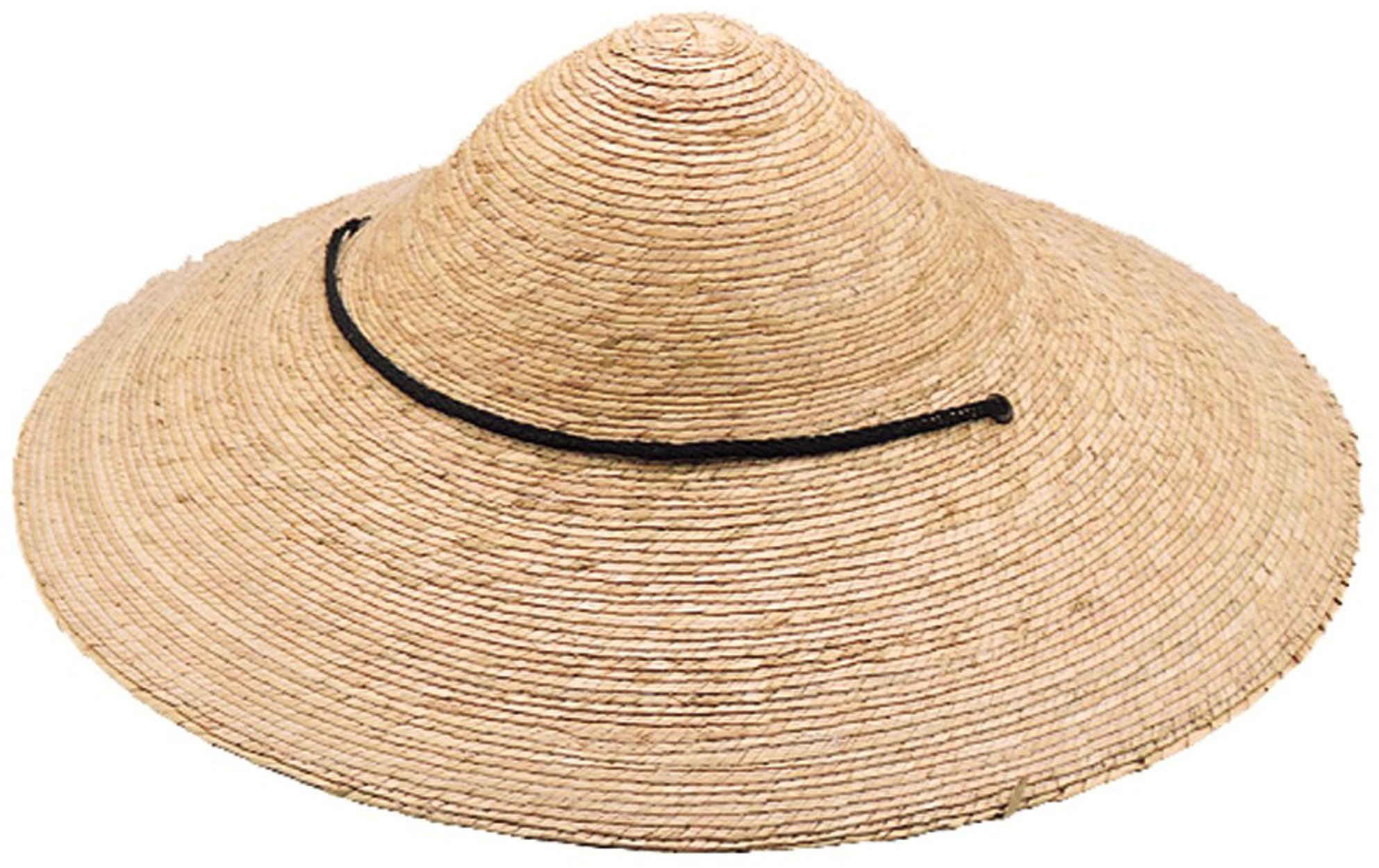 Jacobson Hat Company Men's Straw Braid Coolie, Natural, Adult