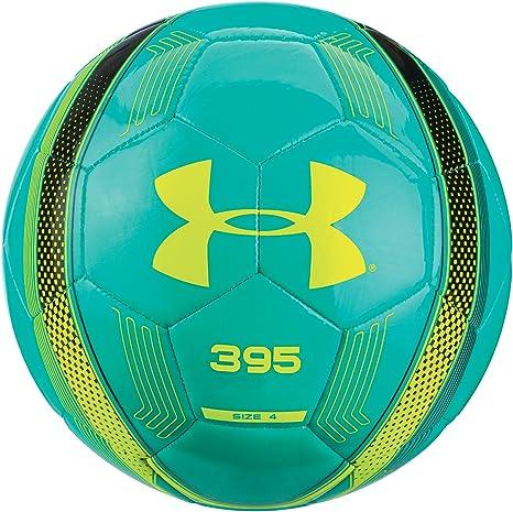 Under Armour 395 balón de fútbol, energía con Brillos, Color Negro ...