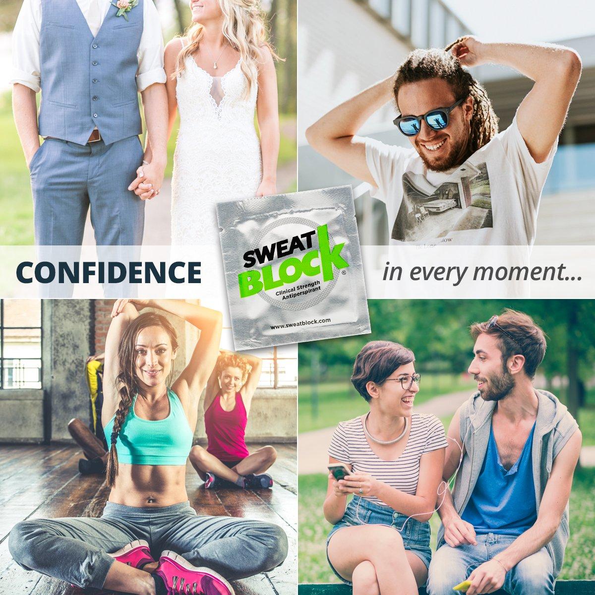 SweatBlock Antiperspirant - Clinical Strength - Reduce Sweat up to 7-days per Use by SweatBlock (Image #10)