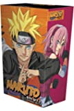Naruto Box Set 3: Volumes 49-72 with Premium