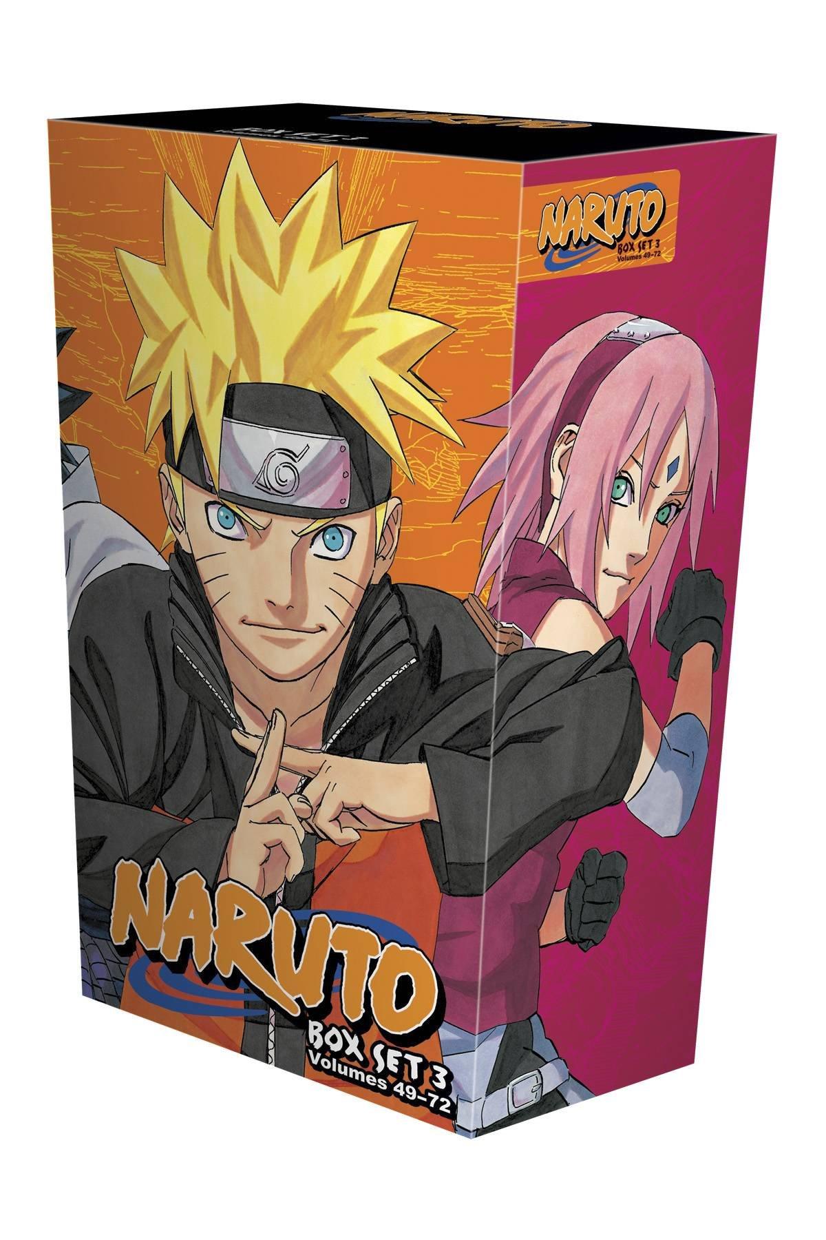 Naruto Box Set 3: Volumes 49-72 with Premium (3): Masashi Kishimoto