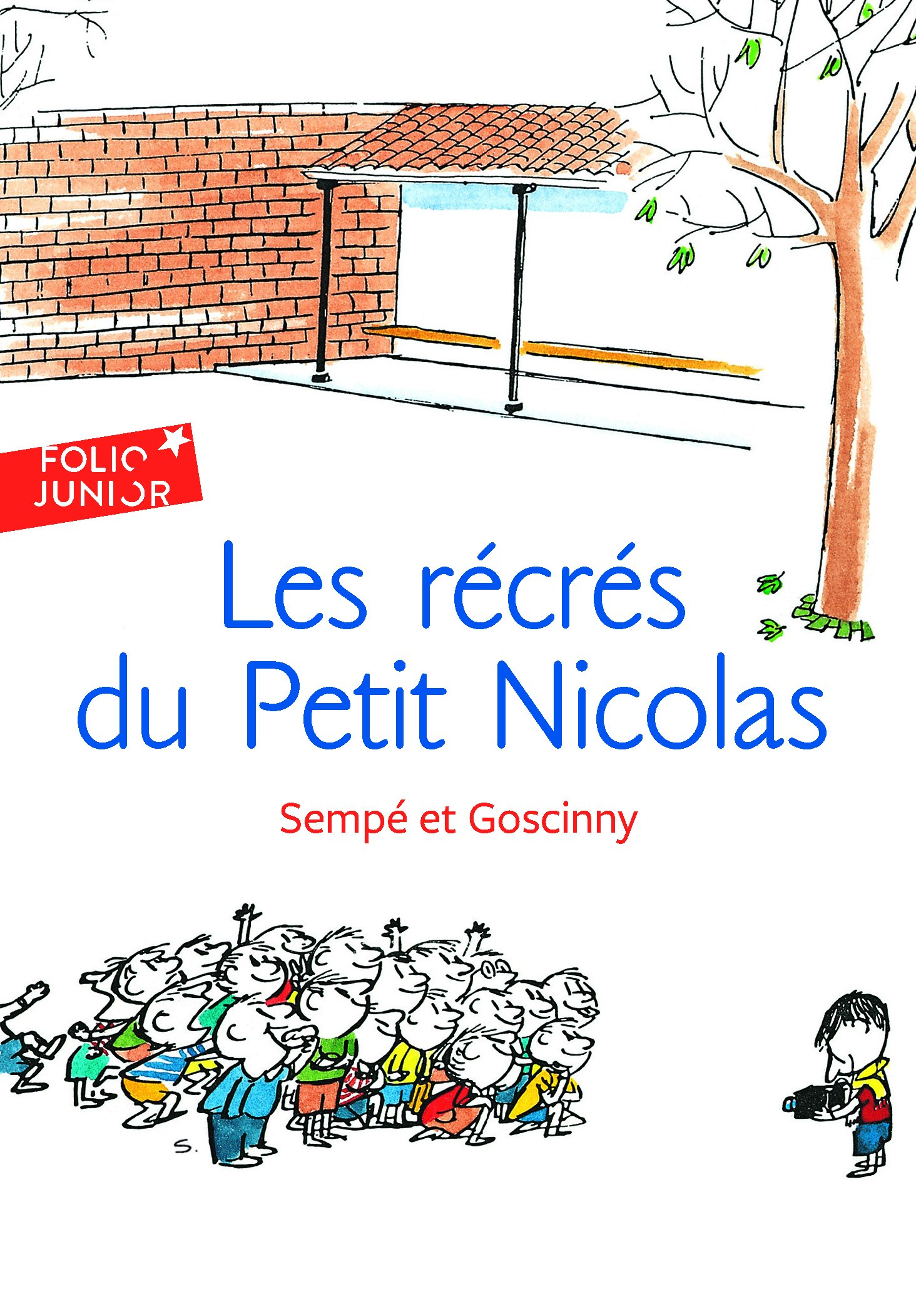 Download Les recres du Petit Nicolas (Folio Junior) (French Edition) pdf