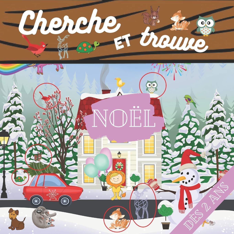 Cherche et trouve Noël dès 2 ans: Mon premier livre d'activité