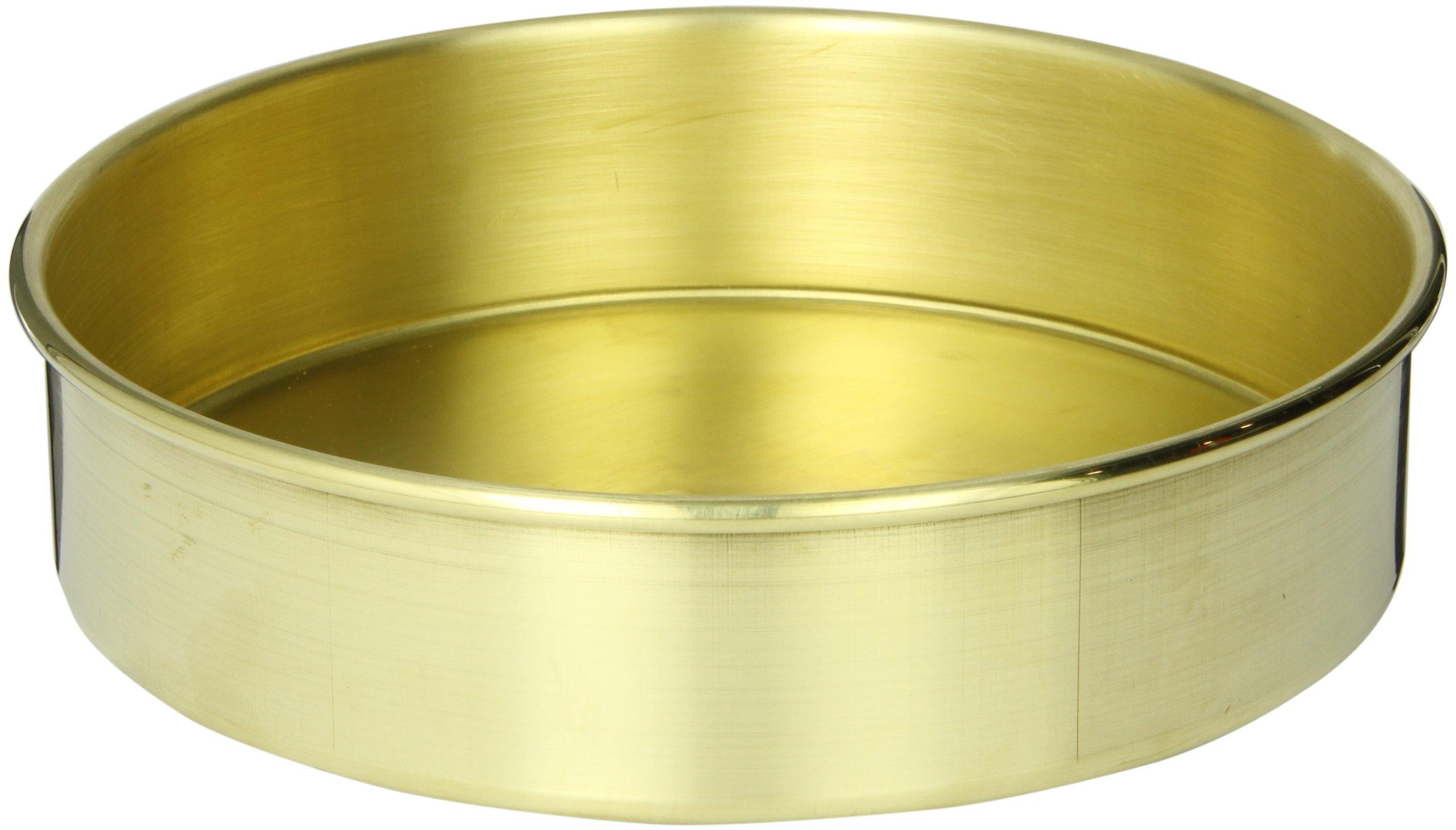 Advantech PB8F Brass Sieve Pan, Full Height, 8'' Diameter by Advantech