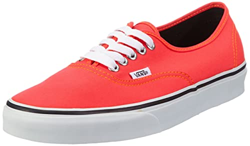 9f94578327 Vans Unisex - Adult U AUTHENTIC (NEON) RED ORAN Trainers Red Rot (