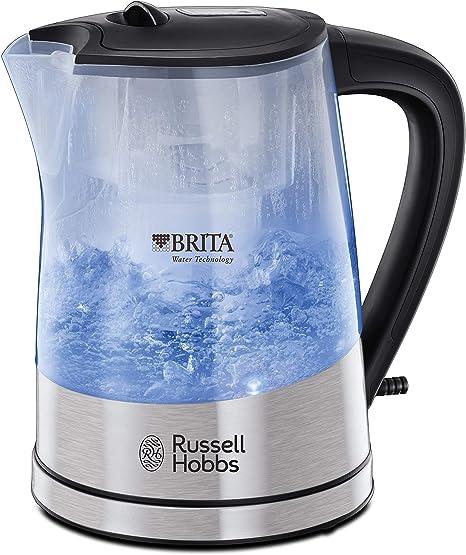Russell Hobbs Purity - Hervidor de Agua Eléctrico con Filtro Brita ...