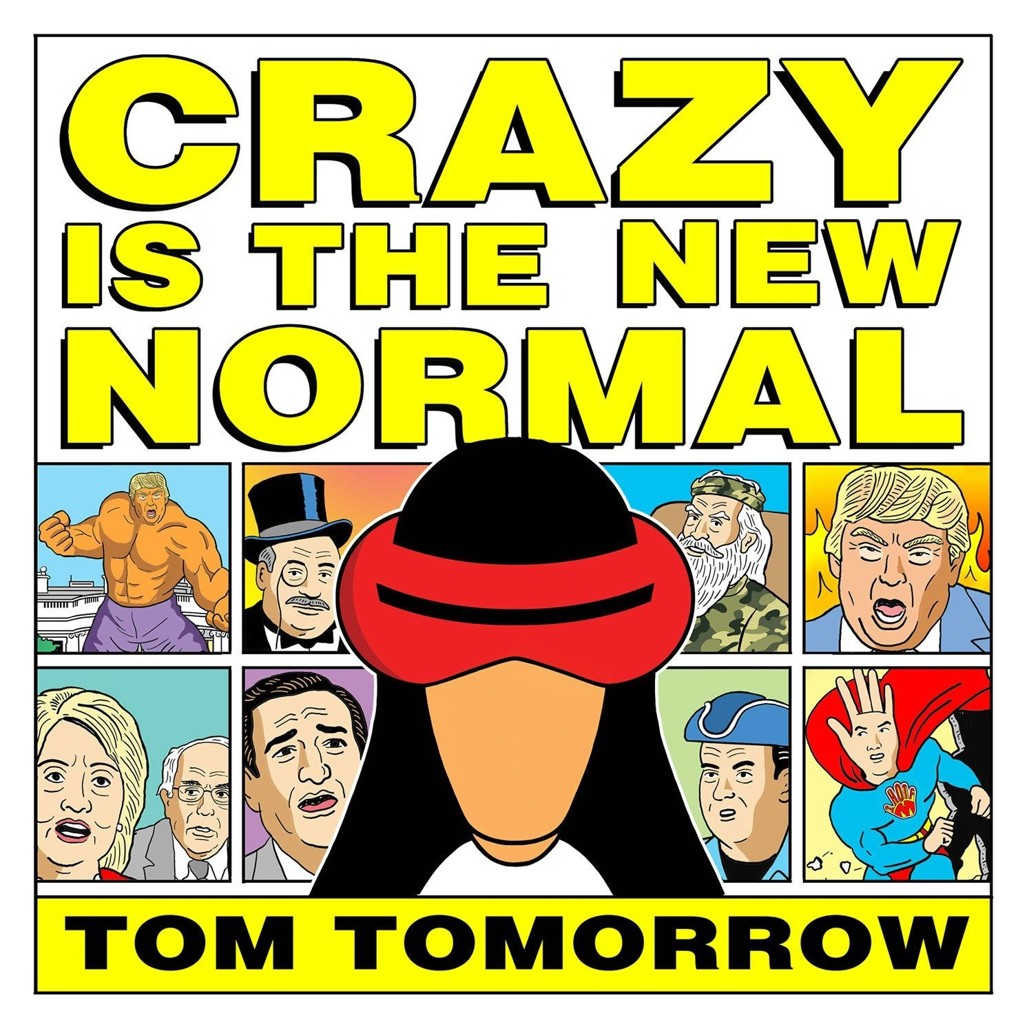 Amazing comic series from crazy world