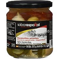Sabor Español - Banderillas picantes, 330 g, Pack