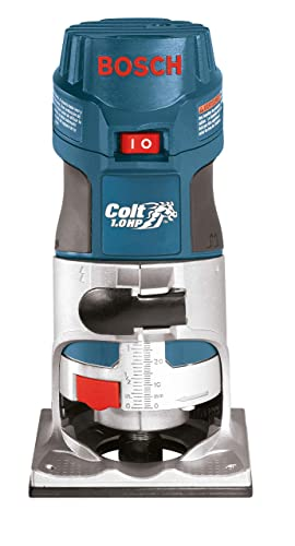 Bosch Colt 1-Horsepower 5.6 Amp Electronic Variable-Speed Palm Router