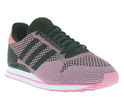 adidas ZX 500, Sneaker Uomo Rosa Rosa, Rosa (Rosa), 38.5