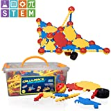 USA Toyz STEM Toys for Boys and Girls – 160pc QUARKS Engineering and Construction Toys, Building Educational Toys with Multilink Spheres for Kids