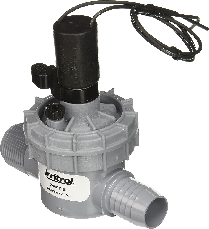1 Irritrol 2400TF-B Globe Male x Barb Valve with Flow Control