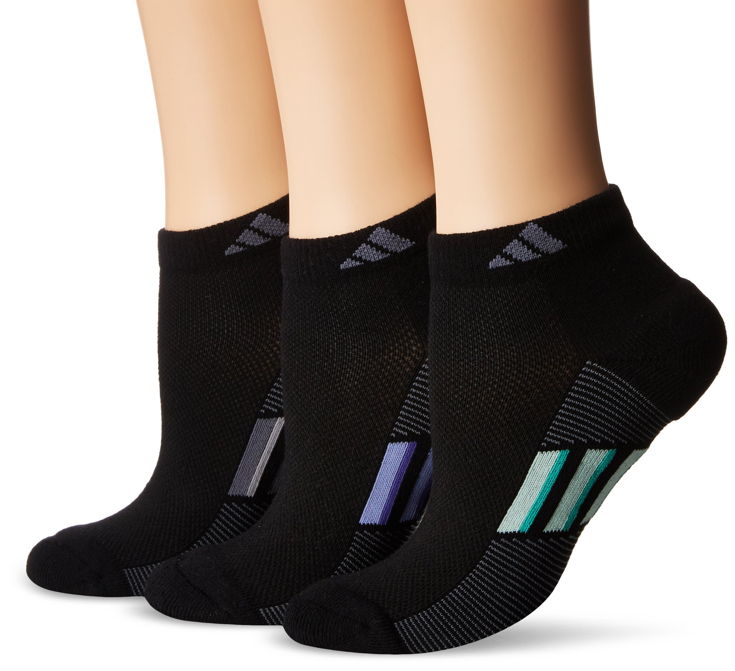 adidas Women's Climacool Superlite Low Cut Socks (3-Pack) by adidas (Image #1)