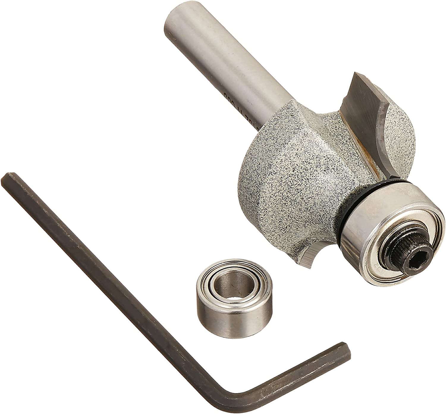 Vermont American  1//2 in Radius  Carbide Tipped  Round Over  Router Bit