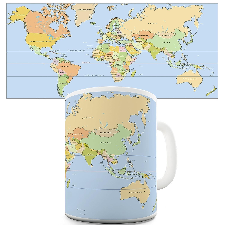 Educational mugs map of the world coffee gift mug amazon educational mugs map of the world coffee gift mug amazon kitchen home gumiabroncs Gallery