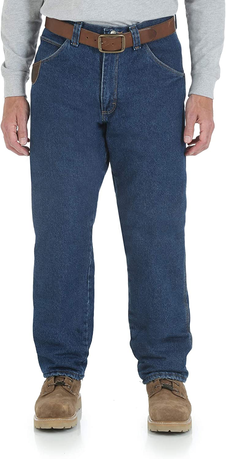 Phoenix Mall Wrangler Riggs Workwear Classic Men's Fit Jean Relaxed Lined