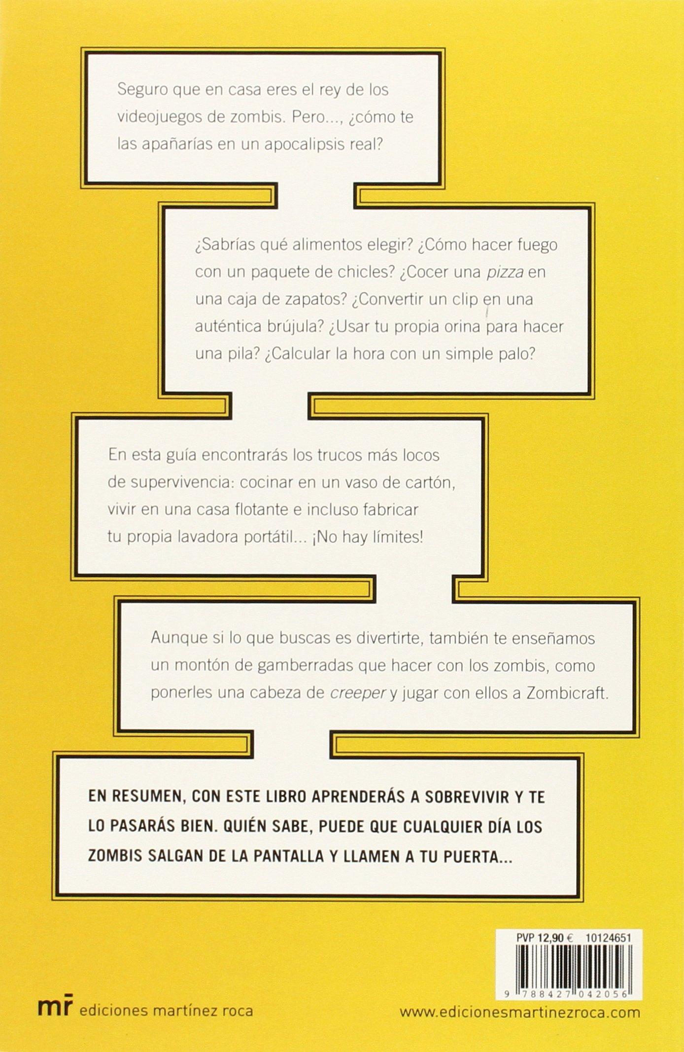 Cómo sobrevivir a un apocalipsis zombi: Jesús Cibantos Muñoz, Natalia Machuca Tello: 9788427042056: Amazon.com: Books