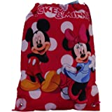Disney Minnie et Mickey Lunares Sac à dos Sac pour l'ecole Cartable