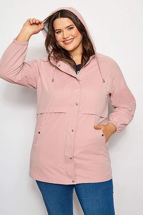 Ex Evans Ladies Peach Pink Dipped Hemline Tunic Top Plus Sizes 16-32