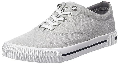 Tommy Hilfiger Heritage Jersey Textile Sneaker, Zapatillas para Mujer: Amazon.es: Zapatos y complementos