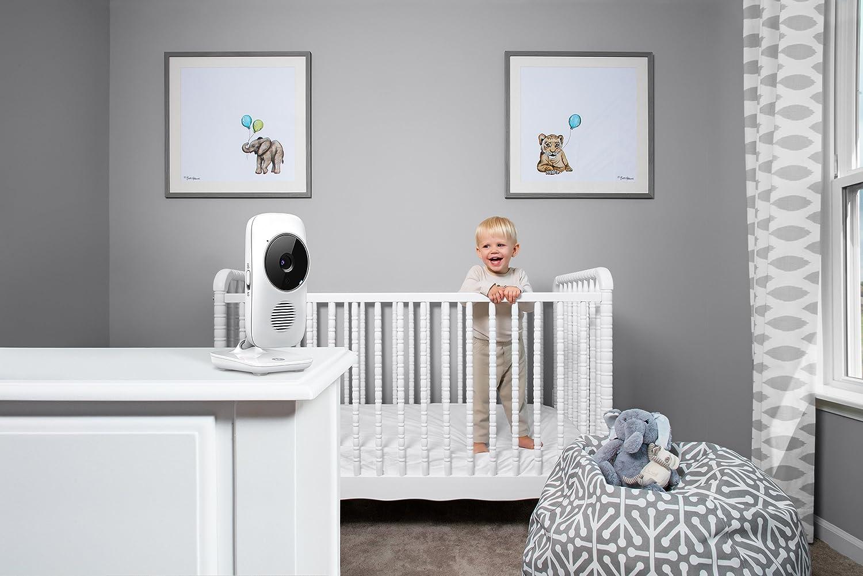 Baby-/Überwachungskamera mit 2.8 Farbdisplay WLAN Video Babyphone Motorola Baby MBP 667 Connect 300 Meter Reichweite