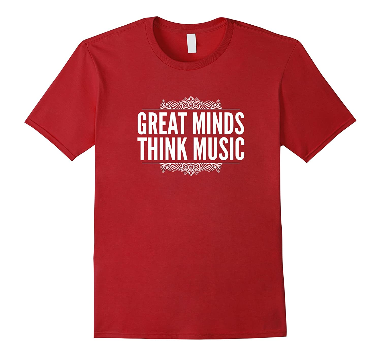 Gifts for Musicians  Music Lovers - Great Minds Think Music-TJ