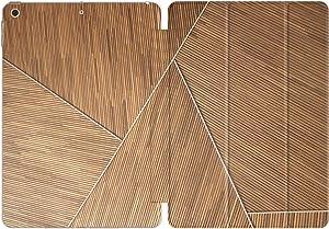 Vonna Case Replacement for Apple iPad Air 4th Gen 2020 12.9 Pro 10.2 8th 11 10.5 9.7 Mini 5/4/3/2/1 Slim Wood Closure Print Simple Elegant Magnetic Texture Stand Woman Beautiful Nature Design vm898