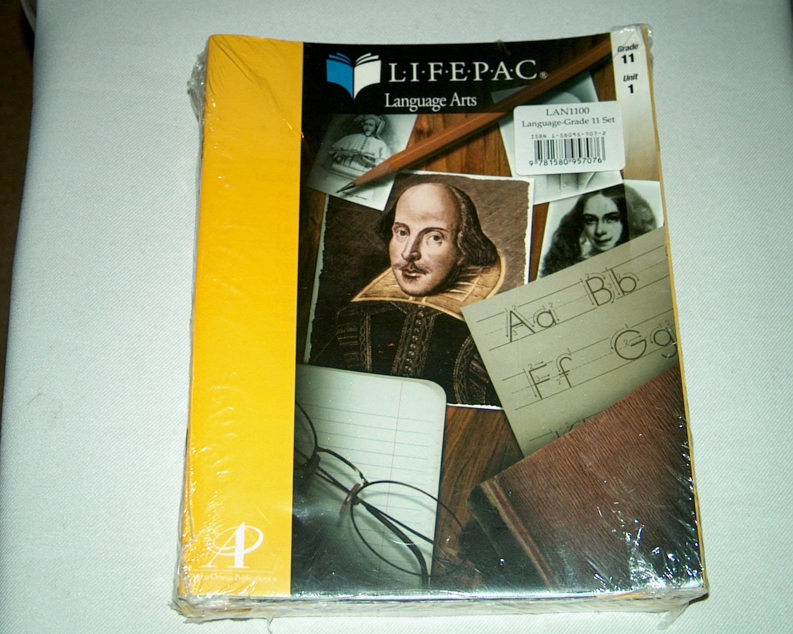 Download Lifepac Gold Language Arts Grade 11: Set of 10 pdf epub