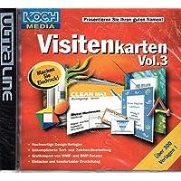Ultraline. Visitenkarten 3. CD- ROM für Windows 95/98/2000