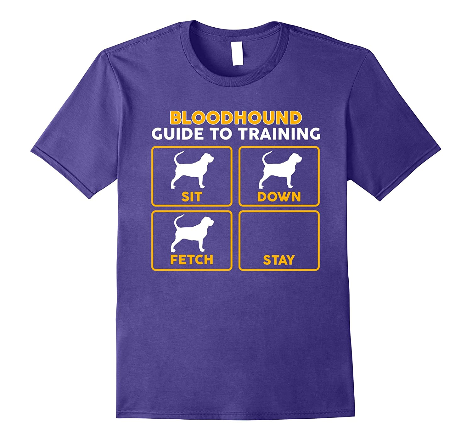 Bloodhound T-Shirt | Funny Guide To Training-FL