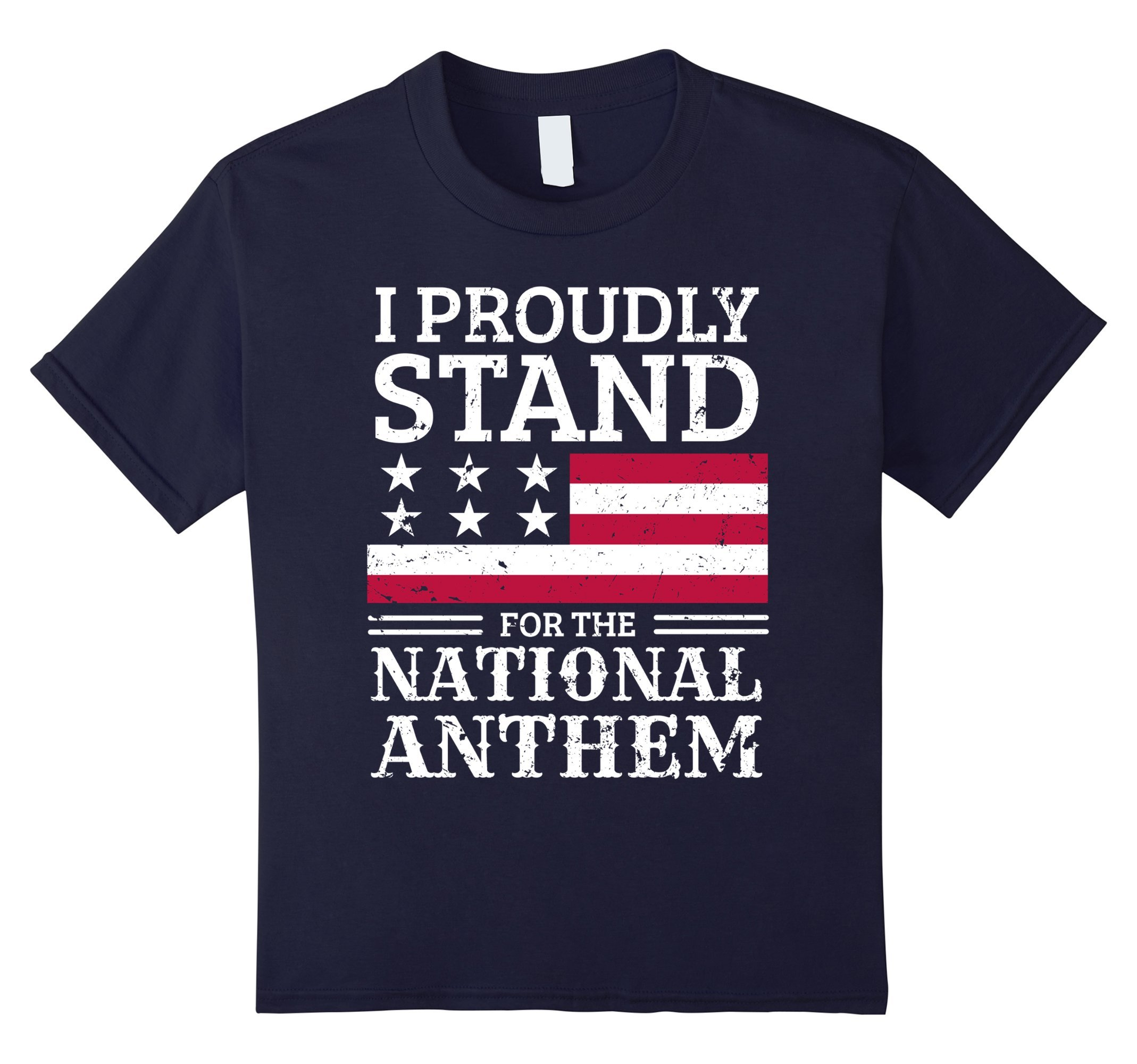 #TAKETHEKNEE I Proudly Stand For The National Anthem T-Shirt
