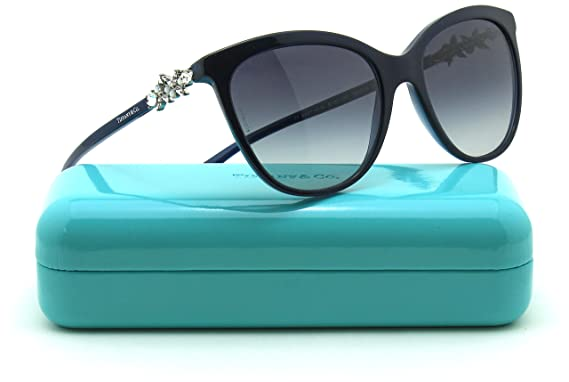 5aa5afd3b1af Image Unavailable. Image not available for. Colour  Tiffany   Co. TF  4131-HB Women Butterfly Sunglasses ...