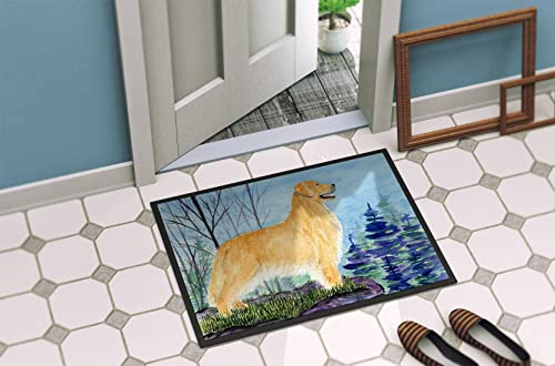 Caroline s Treasures SS8607JMAT Golden Retriever Indoor or Outdoor Mat 24×36 Doormat, 24H X 36W, Multicolor