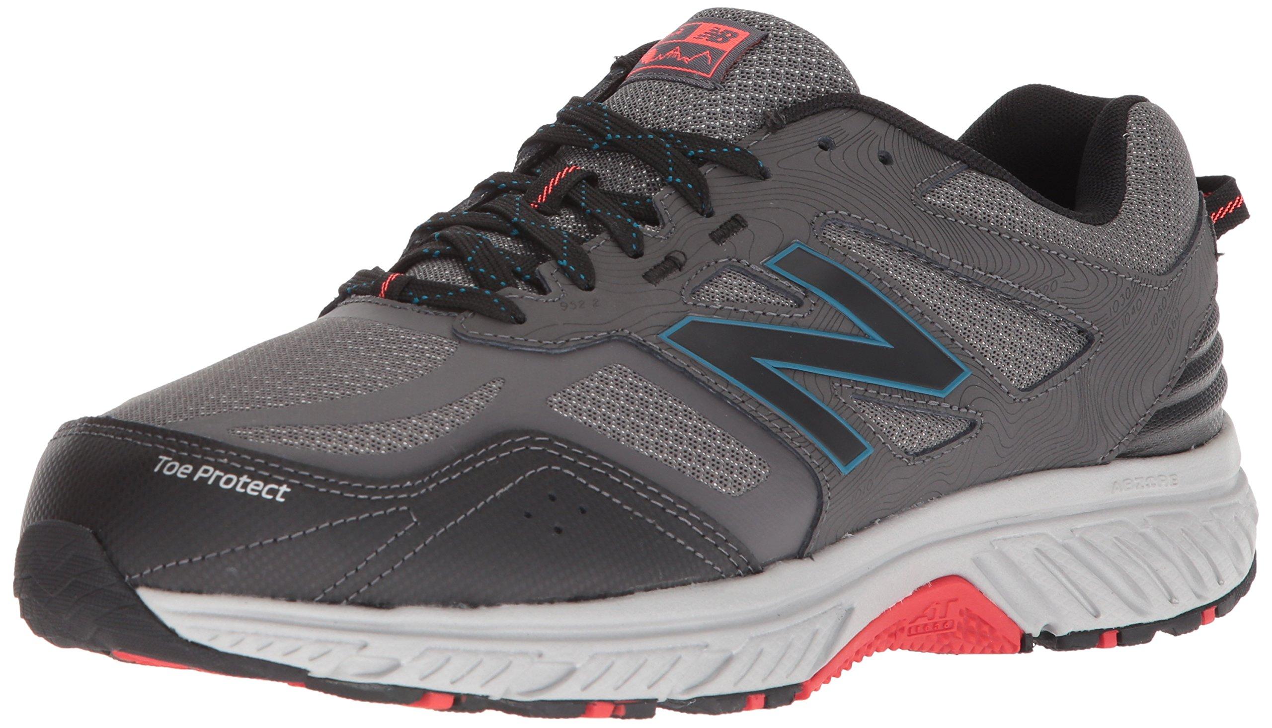 New Balance Men's 510v4 Cushioning Trail Running Shoe, Magnet, 7 D US by New Balance (Image #1)