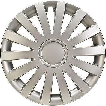 """ALBRECHT automotive 09276 Tapacubos Wind 16"""" pulgadas, 4 Unidades"""