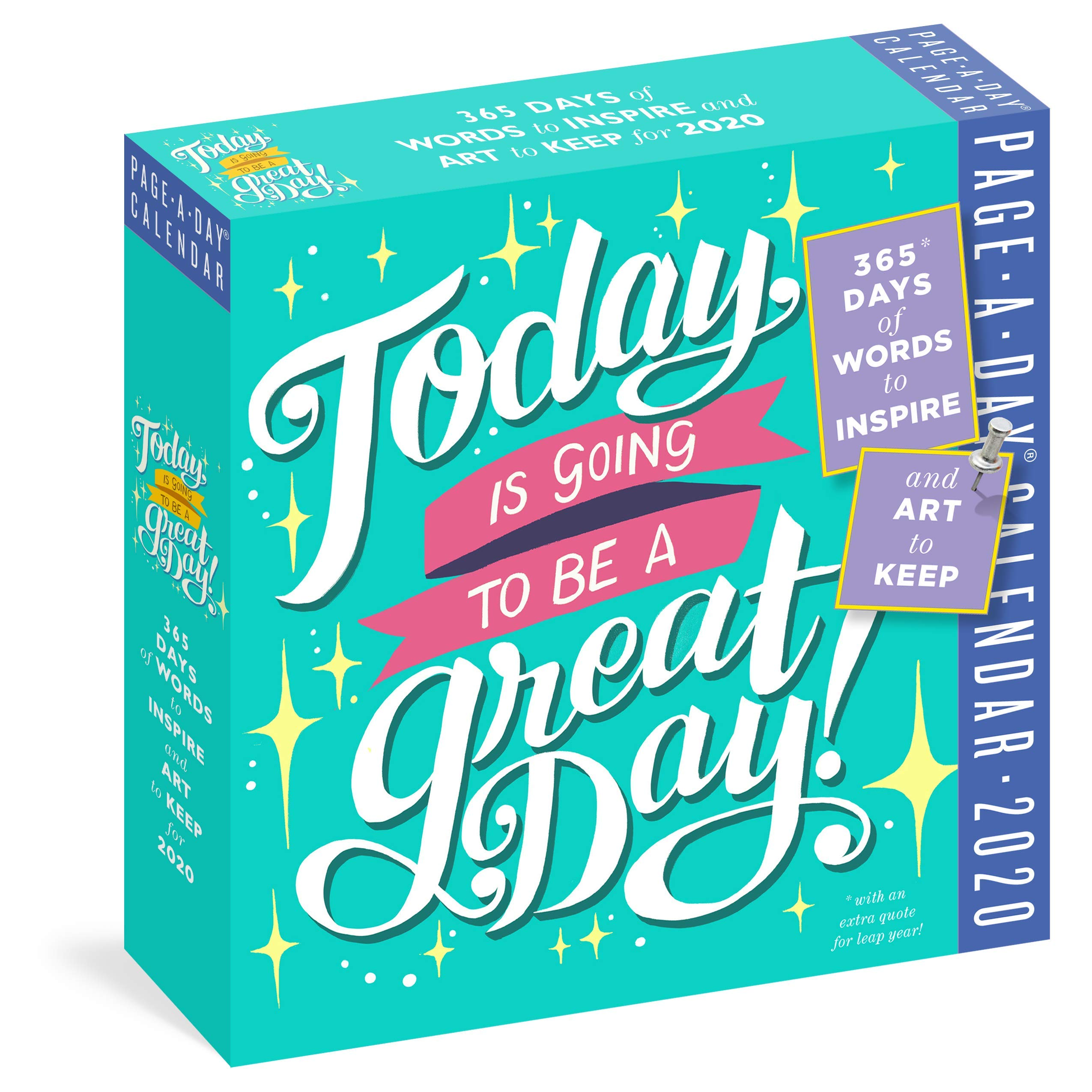 Today Going Great Page Calendar product image