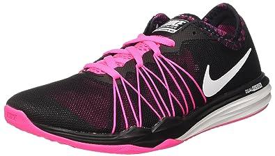 Nike Damen W Dual Fusion Tr Hit Prnt Trainingsschuh, Schwarz (schwarz    weiß- 72db4fb0f7