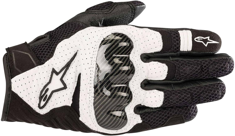 color negro Alpinestars Smx-1 Air V2 Guantes de motociclista