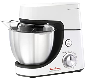 moulinex qa5081 masterchef gourmet robot da cucina 900 w biancogrigio scuro