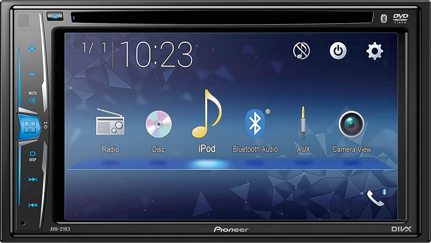 Pioneer AVH-211EX Multimedia Recevier with Bluetooth