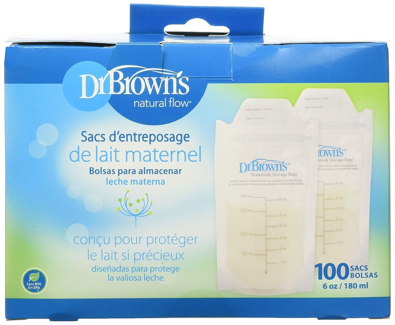 Browns 100 Piece Breastmilk Storage Bags Dr