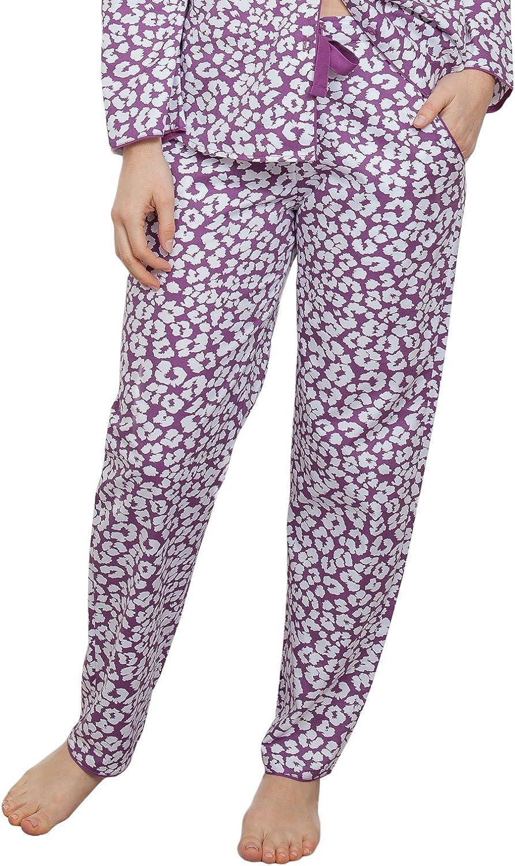 Cyberjammies 3828 Women's Fiona Pink Animal Print Pajama Pyjama Pant
